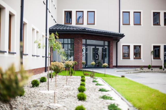 Dom dla Seniora – budynek z zewnątrz